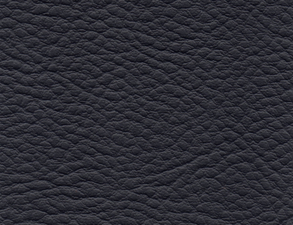 PVC leather fabric Coventry, Black