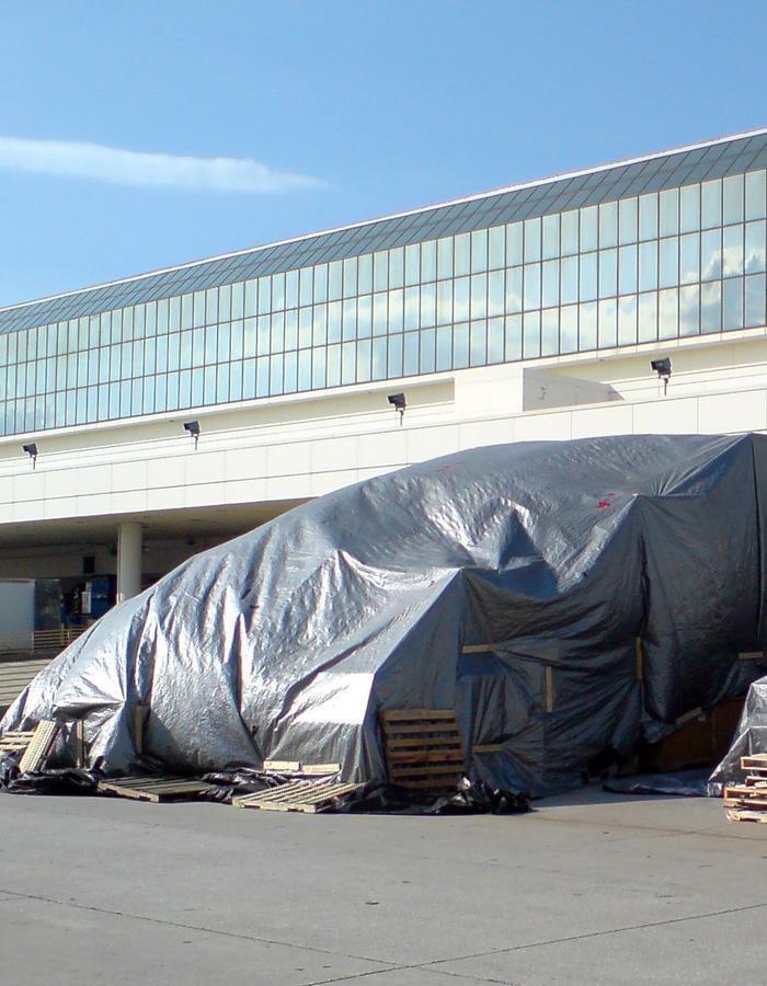 Tents 8x10m, bl.110g/m². Cena norādīta ar PVN par gab. Bezmaksas piegāde