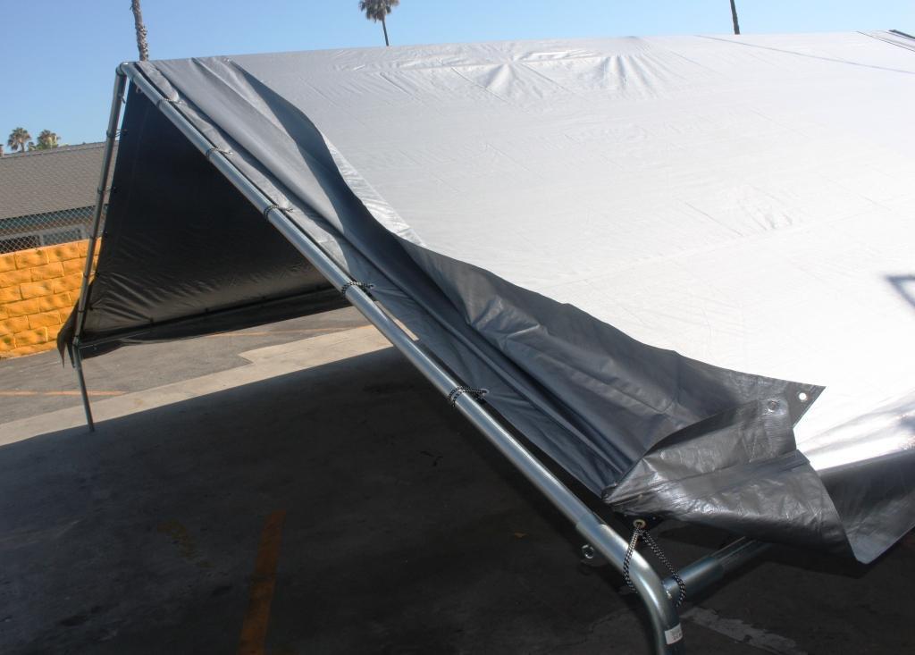 Tents 4x6m, bl.110g/m². Cena norādīta ar PVN par gab. Bezmaksas piegāde
