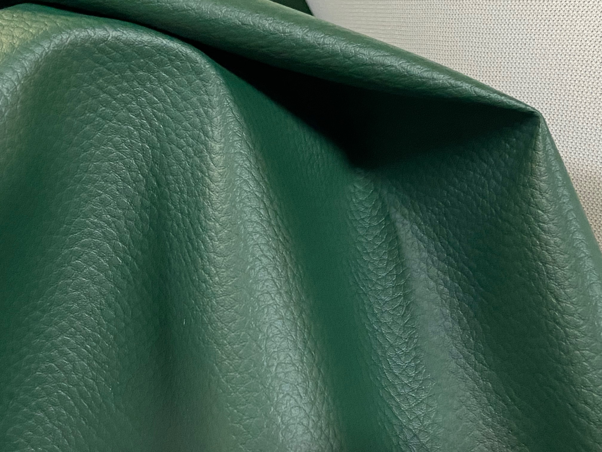 PVC Leather, Budget+, width 145cm, weight 450g/m², Green
