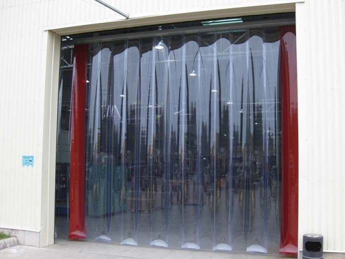 Soft PVC windows
