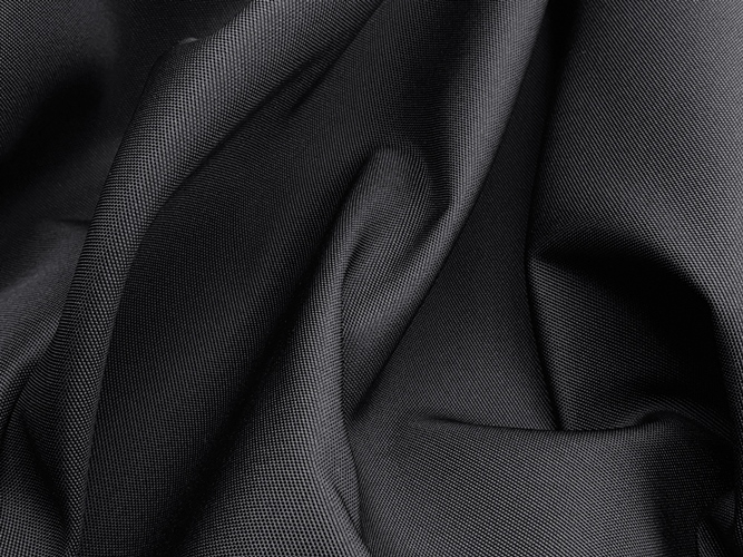 Kondor Fabric, weight 287g/m², width 150cm, black colour. Price per meter, 21% VAT incl. Free shipping