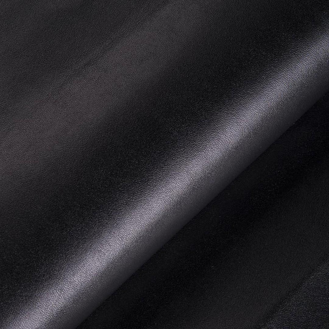 Augstas kvalitātes mākslīgā āda Coventry, pl.140cm, bl.770g/m², melna. Bezmaksas piegāde!
