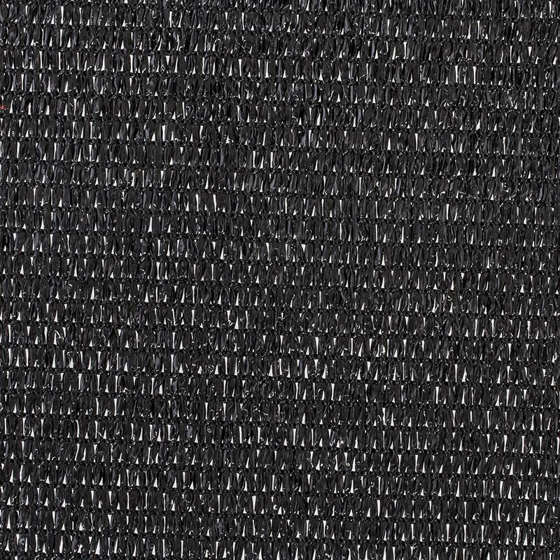 Skaņas vēja tīkls, melns, 160 g/m2, 200 cm