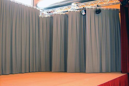 Moltons skatuvēm- Grey, 300 g/m2, 300 cm