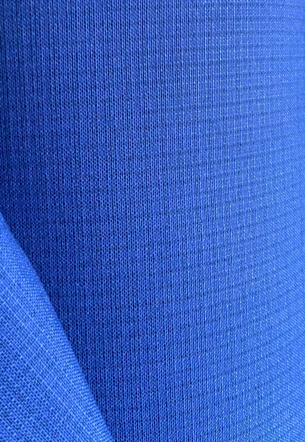 Flame retardant, Water-proof and Acid resistant Fabric. Weight 245g/m², width 150cm, Royal. Free shipping!