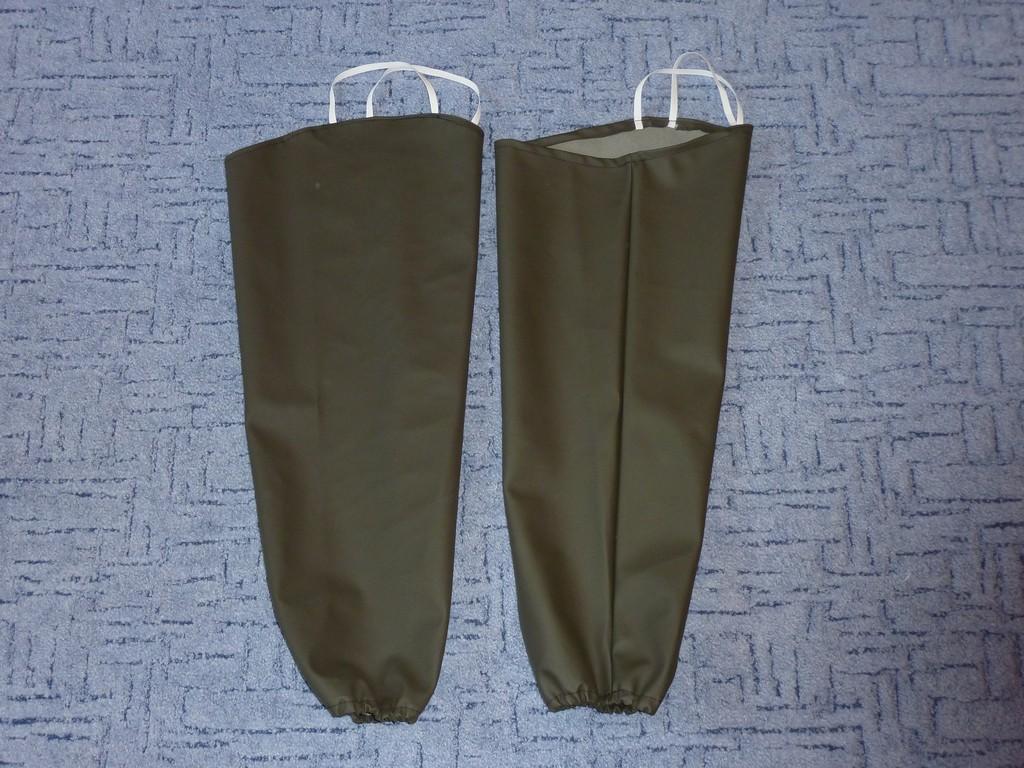 Rubberized Fabric. Width: 150 cm. Dark green colour. Free shipping