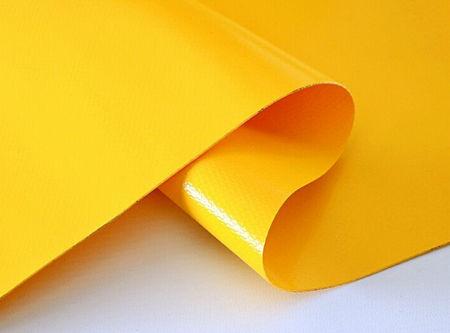 PVC Fabric, Yellow, 250cm