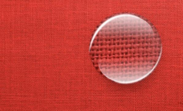 Džutas audums krāsots- sarkans, pl.145cm, bl.280g/m². Bezmaksas piegāde