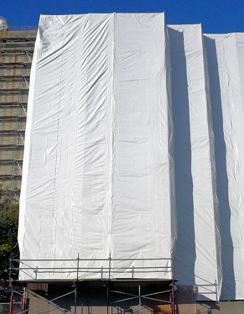 Tents 8x12m, bl.175g/m². Cena norādīta ar PVN par gab. Bezmaksas piegāde!
