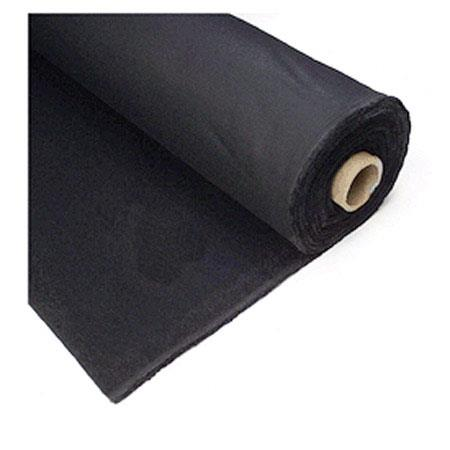 Bjazs, 100% kokvilna, bl.145g/m², pl.150cm, melns. Cena ar PVN par rulli- 100m