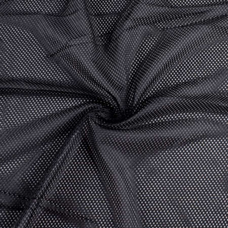 Light knitted mesh for special outfit, weight 133g/m², width 152cm, black. Free delivery! Price per meter, VAT incl.
