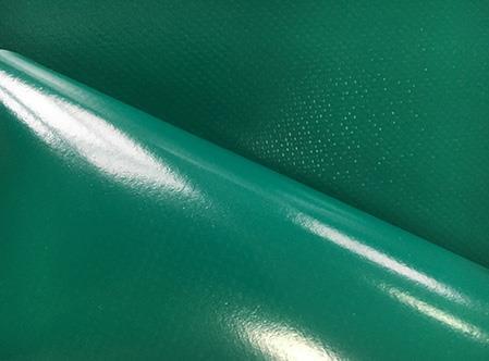PVC tentu materiāls (autotents), zaļš